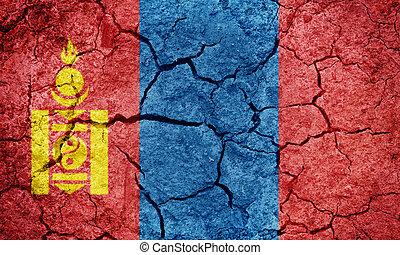 State of Mongolia flag