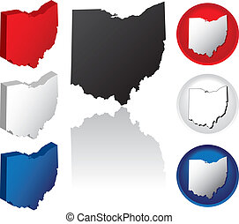 State of Ohio Icons - Ohio Icons