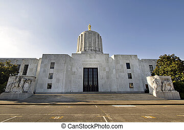 State of Oregon Capitol Building in Salem