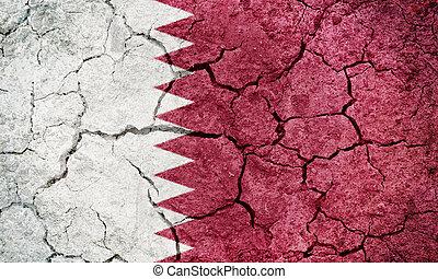 State of Qatar flag