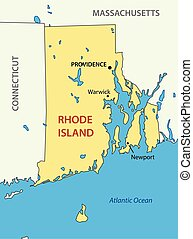 State of Rhode Island and Providence Plantations - vector - ...
