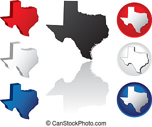 State of Texas Icons - Texas Icons