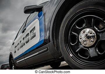 State Police Cruiser - Modern American State Police Cruiser....