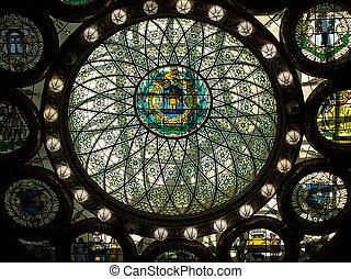 Statehouse Boston. Inner interior