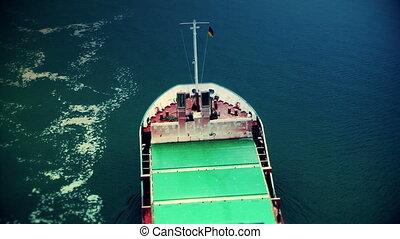 statek ładunku, chwilowy
