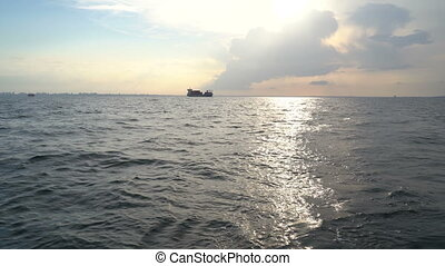 statek ładunku, czarne morze