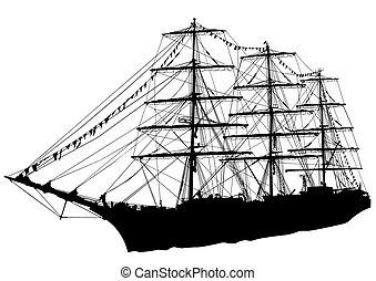 statek, nawigacja