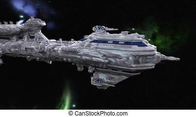 statek, przestrzeń