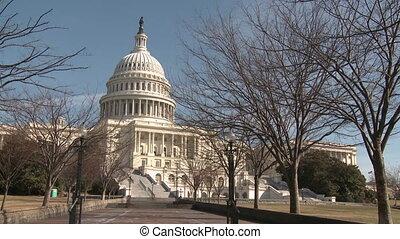 staten, gebouw, verenigd, capitool, wid