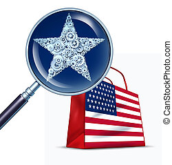 staten, handel, verenigd