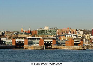 Staten Island Ferry Port
