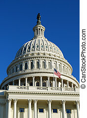 staten, verenigd, capitool