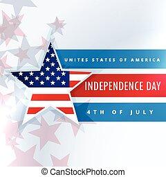 staten, verenigd, dag, amerika, onafhankelijkheid