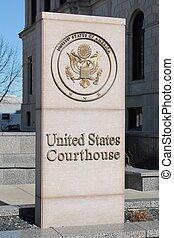 staten, verenigd, gerechtshof