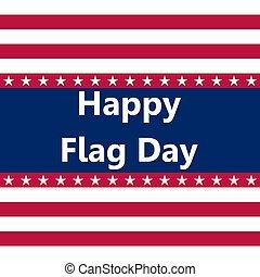 staten, vlag, vector, verenigd, illustratie