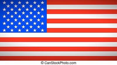 states., vlag, verenigd