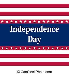 stati, america., unito, giorno, indipendenza