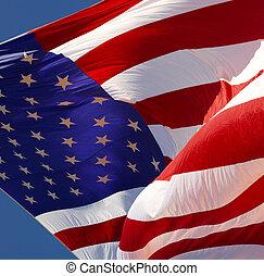 stati, bandiera, unito, -, america