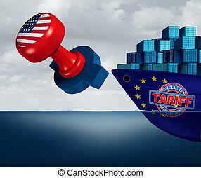 stati, europa, tariffs, unito