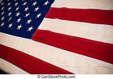 stati, primo piano, unito, bandiera