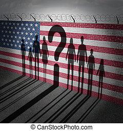 stati, rifugiato, unito, domanda