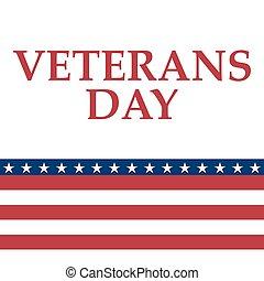 stati, unito, giorno veterani, america