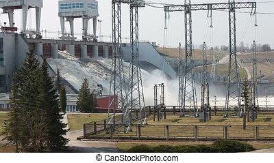 station, énergie hydroélectrique