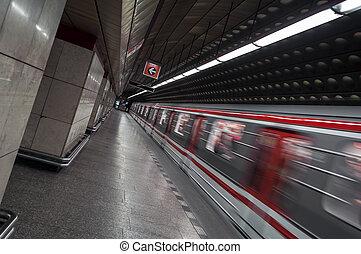 station., μετρό