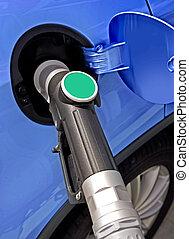 station, carburant
