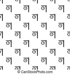 Station clock pattern vector