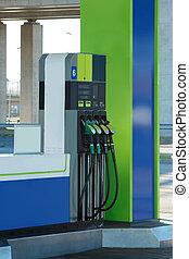 station, gas
