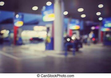 station, gas, suddig