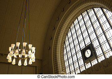 station, helsinki, central, horloge