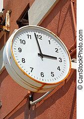 station, horloge