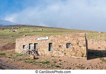 Station House on Pikes Peak