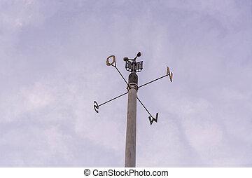 station météorologique, anémomètre