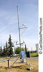 station météorologique, scientifique