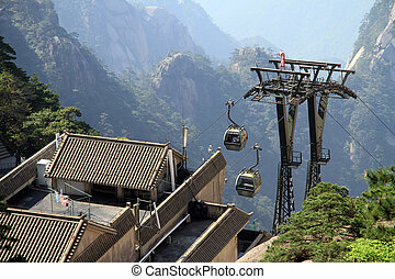 Station of cable car
