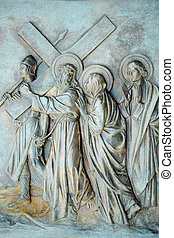 Station of the Cross #4