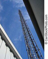 station, radio, base