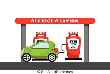 station, service