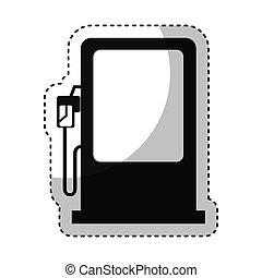 station service fuel icon