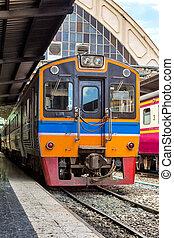 station, train ferroviaire