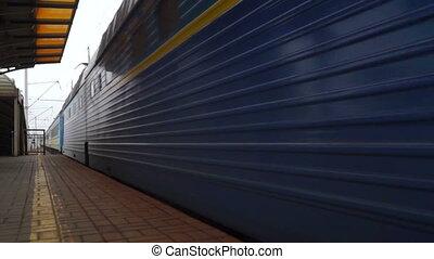 Station train railways