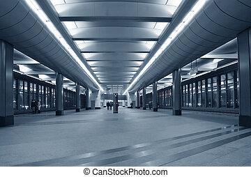 station, tunnelbana