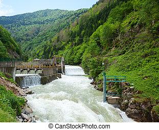 station, vattenkraft makt