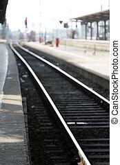 station, verbleibende wiedergabedauer - titel, eisenbahn,...