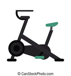 stationary bicycle machine gym sport