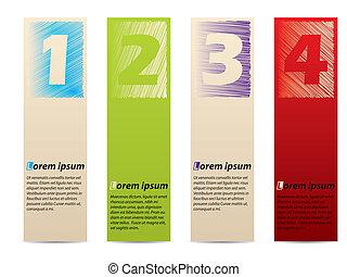 Stationary design label set