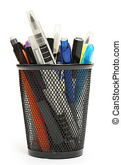 Stationary Holder - An assortment of pens, markers and more...